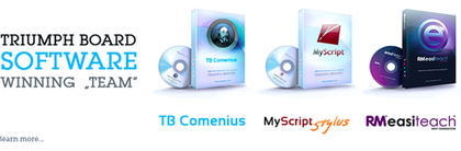 TriumphBoard software pro interaktivní tabule